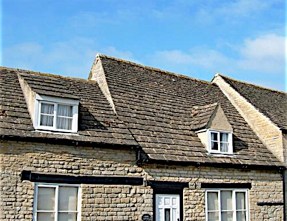 Slate And Stone Roofs In England